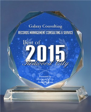 Galaxy Consulting Receives 2015 Best of Redwood City Award